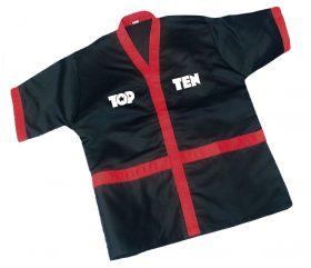 Corner-Jacket Zwart - rood