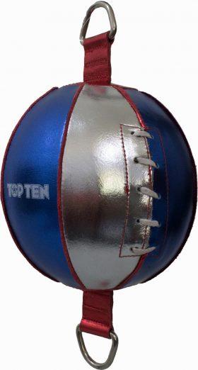 TOP TEN Double end ball Blauw - zilver
