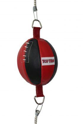 Double end ball Rood - Zwart
