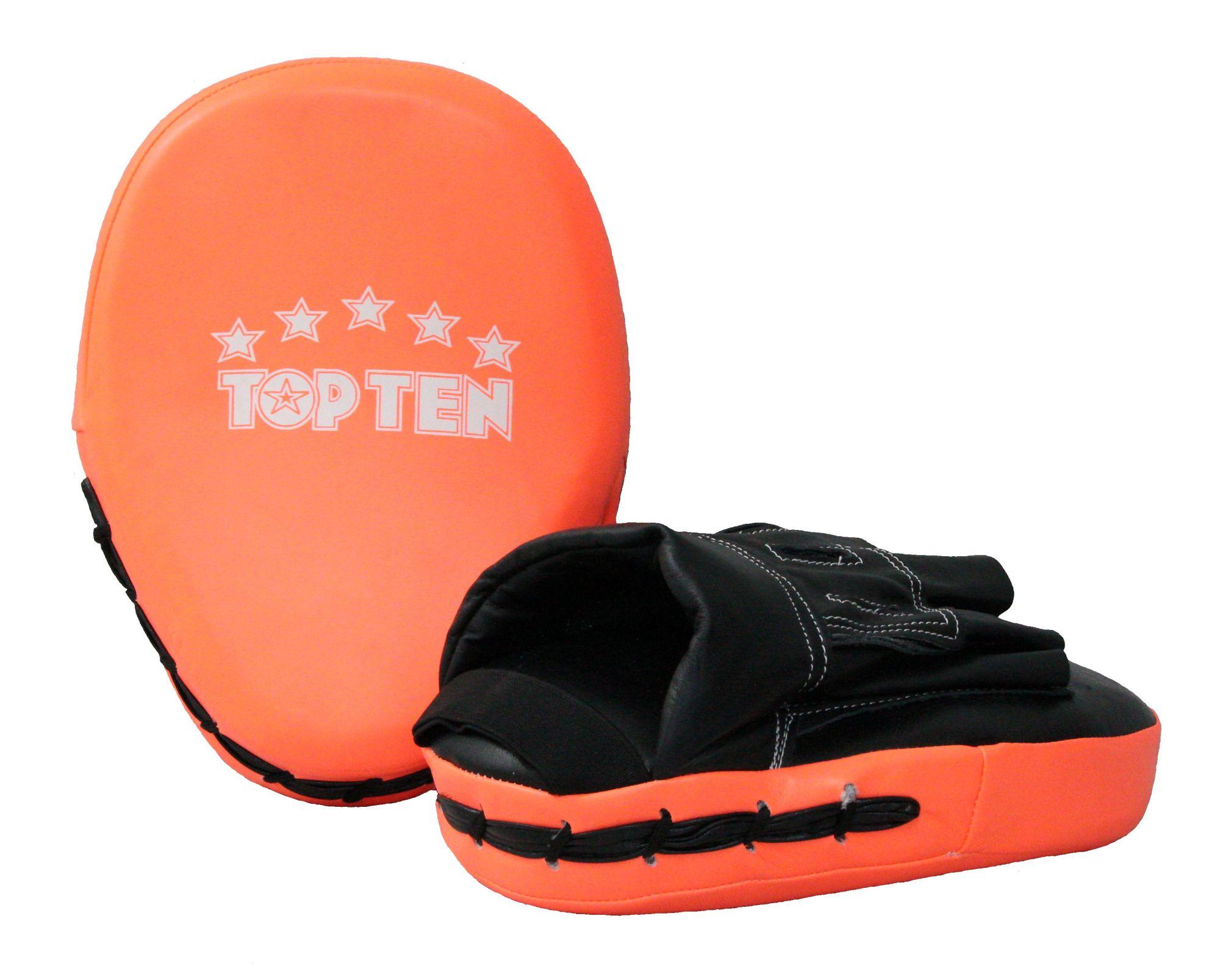 """TOP TEN Focus Mitt """"MX neon"""" Oranje - Zwart"""