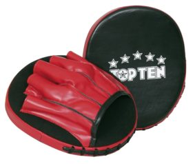 "TOP TEN Focus Mitt ""Speed"" Zwart - rood"