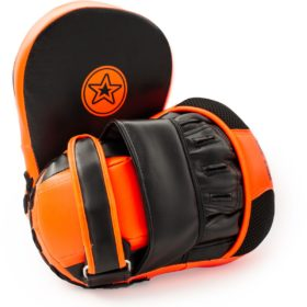 "Focus Mitts ""Munch"" Zwart - Oranje"