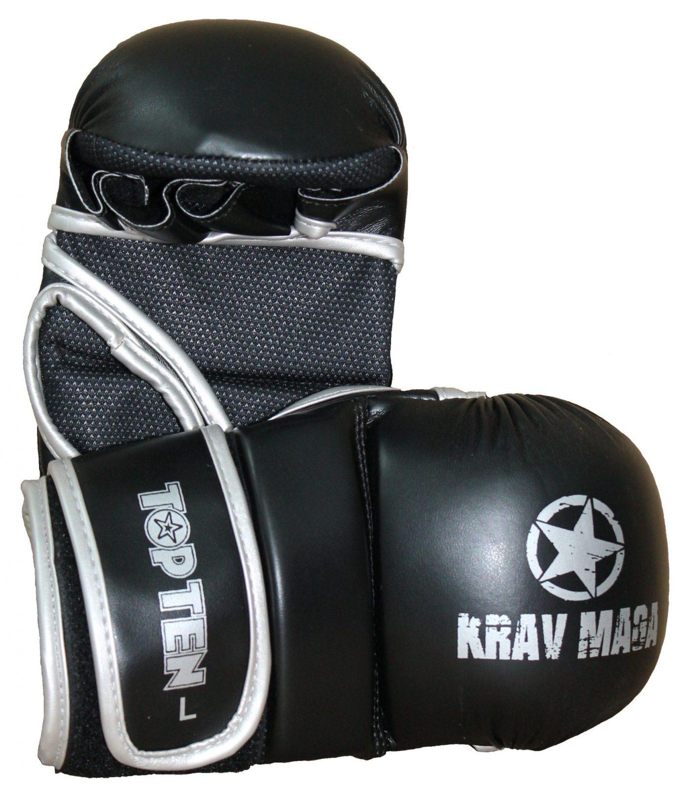 """Grappling gloves """"Krav Maga"""" Zwart"""