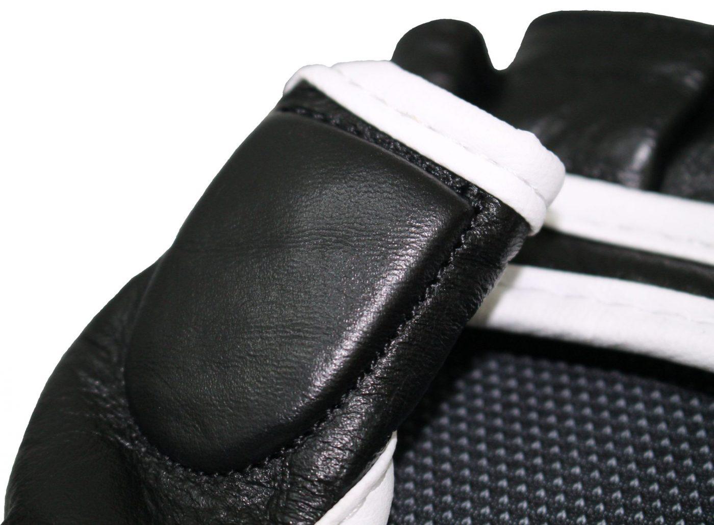 """TOP TEN MMA Grappling gloves """"Thumb Guard"""" Zwart"""