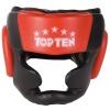 TOP TEN Hoofdbeschermer met kin- en kaakbescherming Zwart - rood