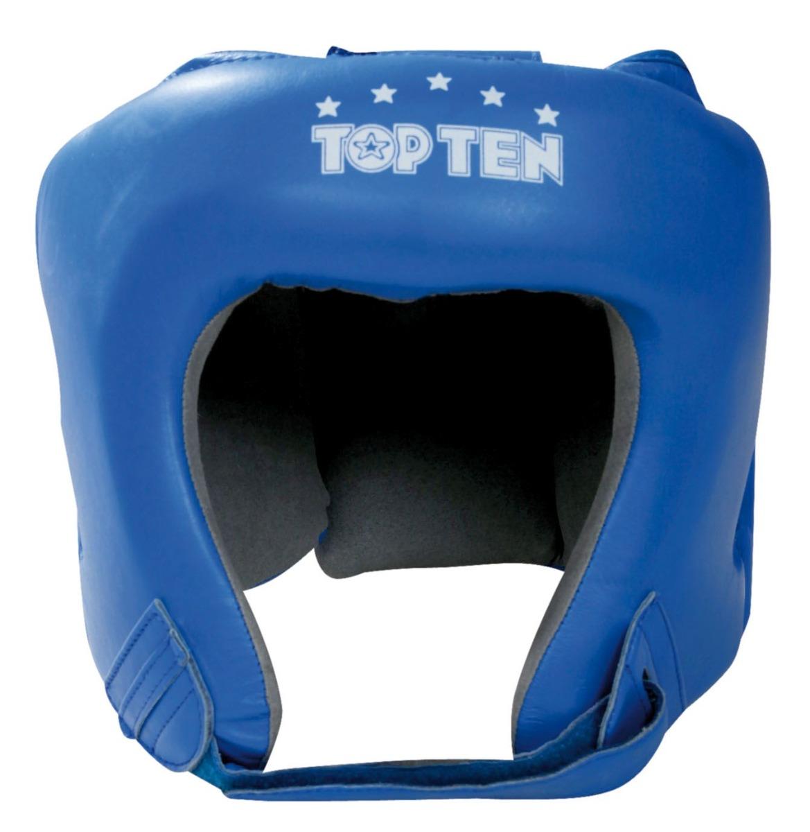 TOP TEN AIBA Hoofdbeschermer (Blauw)
