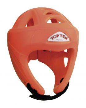 """Hoofdbeschermer """"NEON Avantgarde"""" (WAKO approved) zonder kin- en kaakbescherming Oranje"""