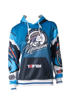 """Hoodie """"Mohicans"""" Blauw"""