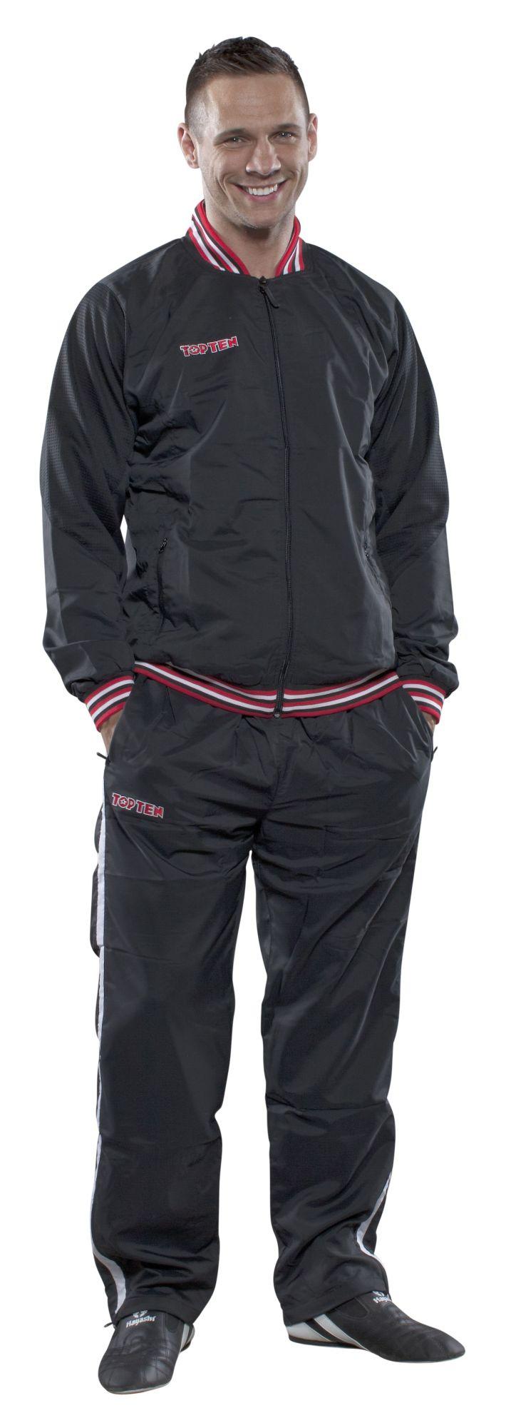 "Jacket ""Dry Fit Mix Up"" Zwart"