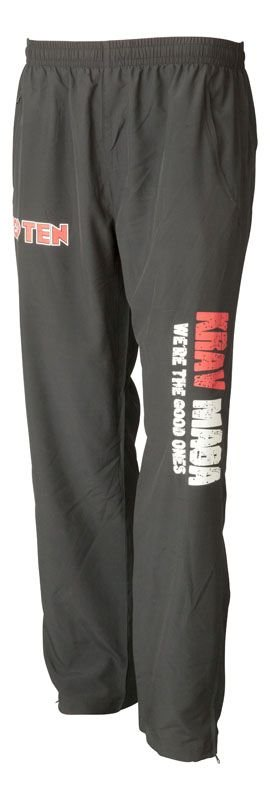 "TOP TEN Joggingbroek ""Krav Maga"" Zwart"
