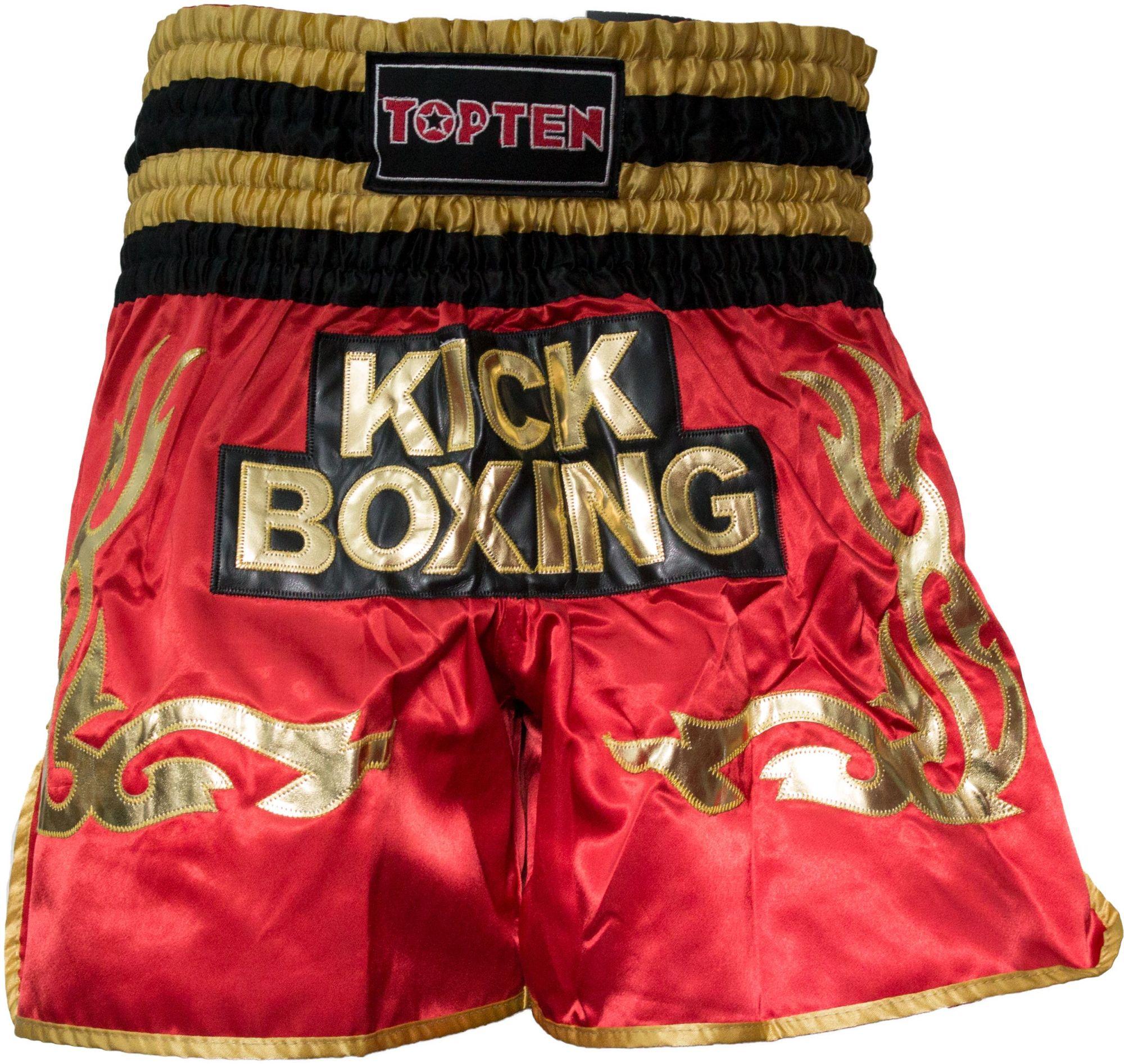 """TOP TEN Kickboksbroekje """"WAKO Kickboxing"""" Blauw"""