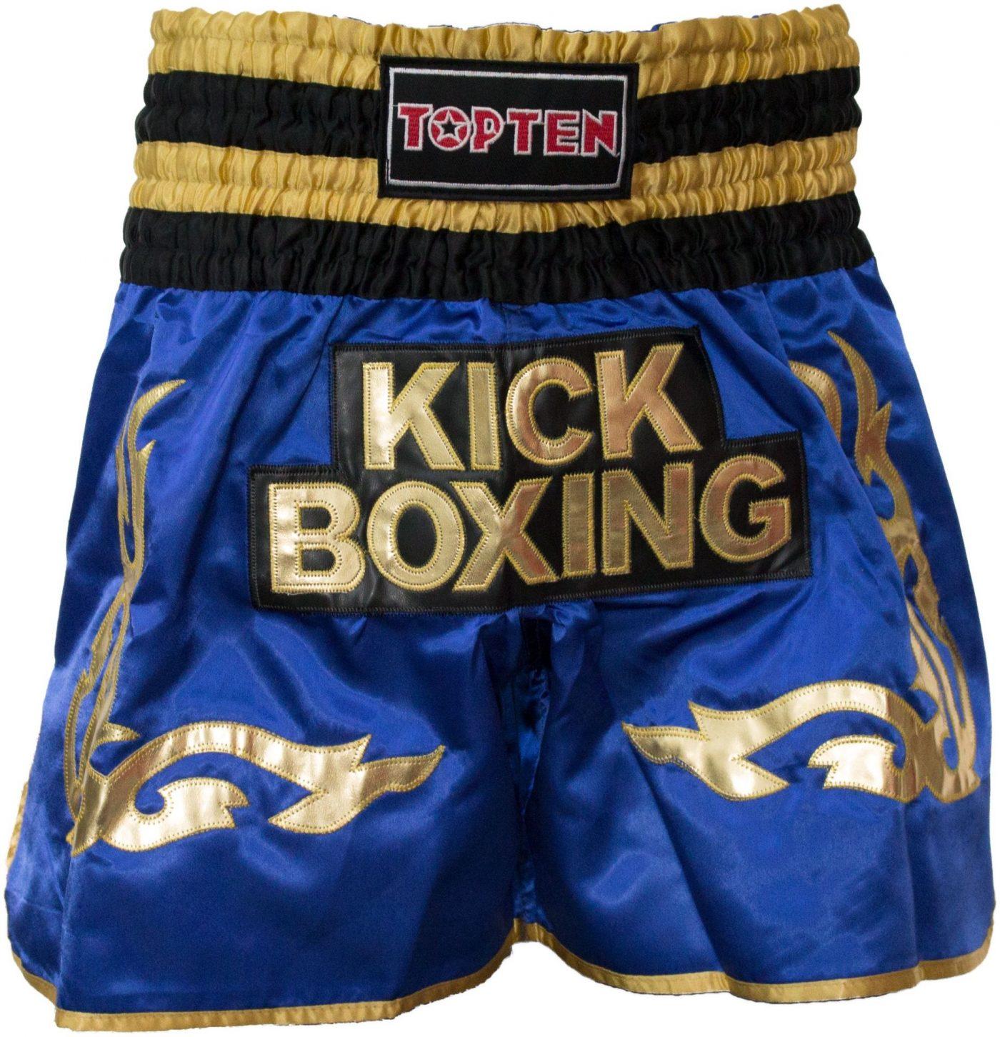 "Kickboksbroekje ""WAKO Kickboxing"" Blauw"