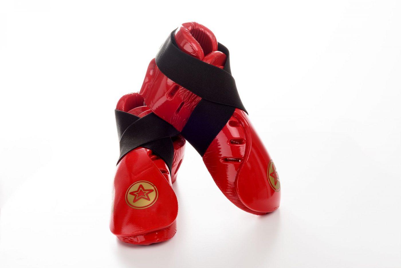 """TOP TEN Kicks """"Dipped Foam"""" voor wedstrijden voetbeschermers Zwart"""