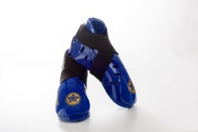"""Kicks """"Dipped Foam"""" voor wedstrijden voetbeschermers Blauw"""
