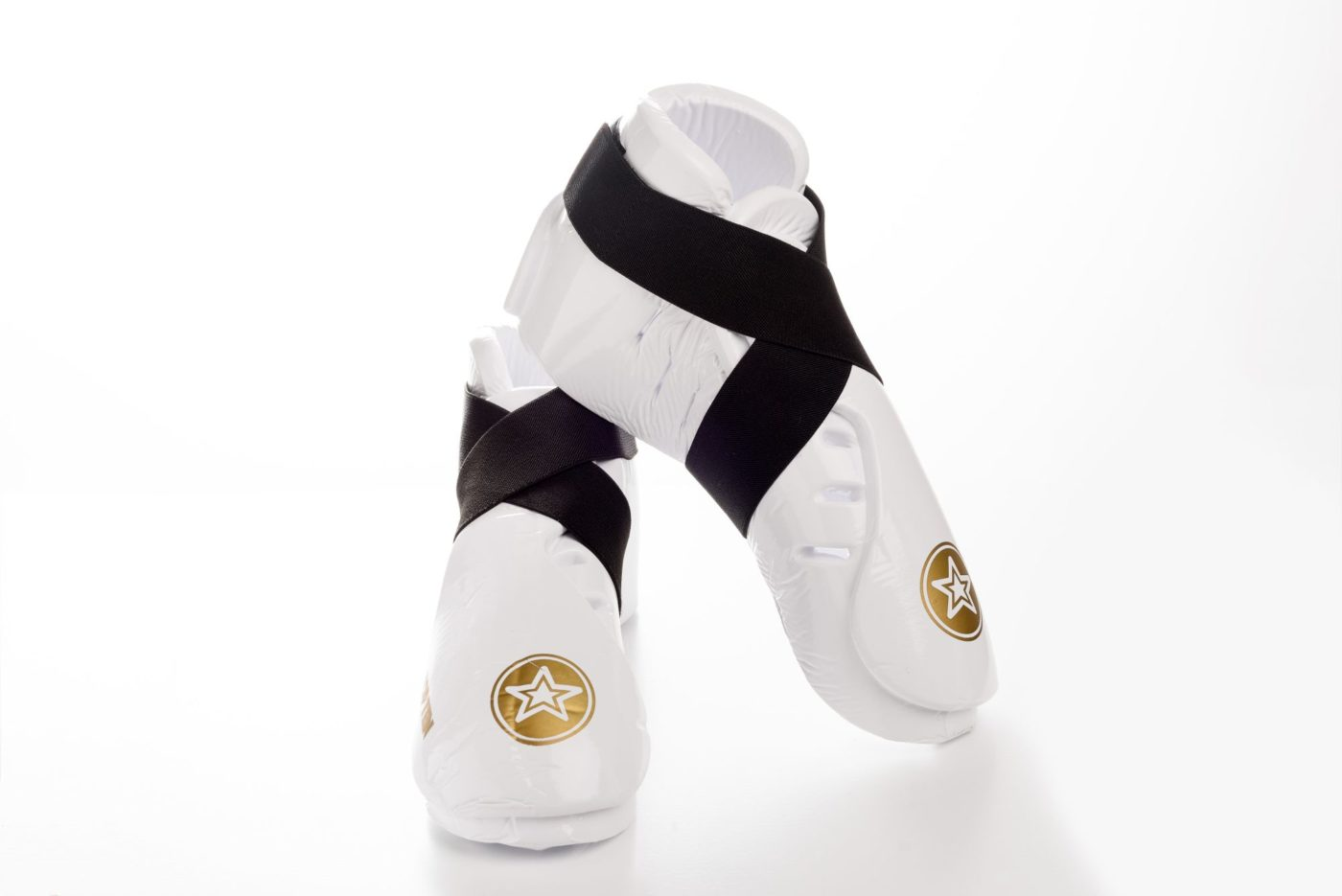 """Kicks """"Dipped Foam"""" voor wedstrijden voetbeschermers Wit"""
