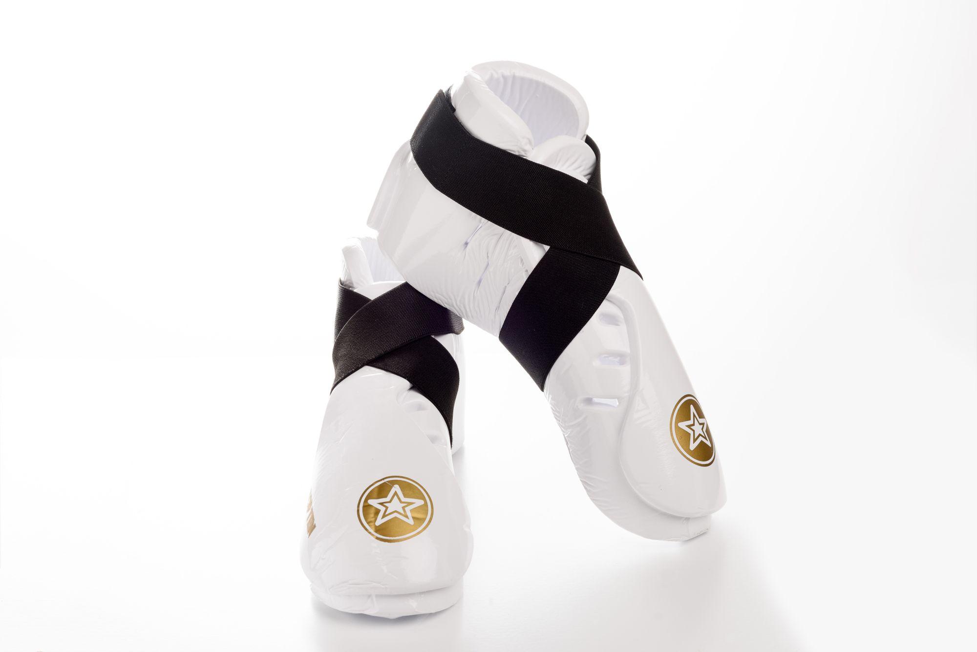 """TOP TEN Kicks """"Dipped Foam"""" voor wedstrijden voetbeschermers Wit"""