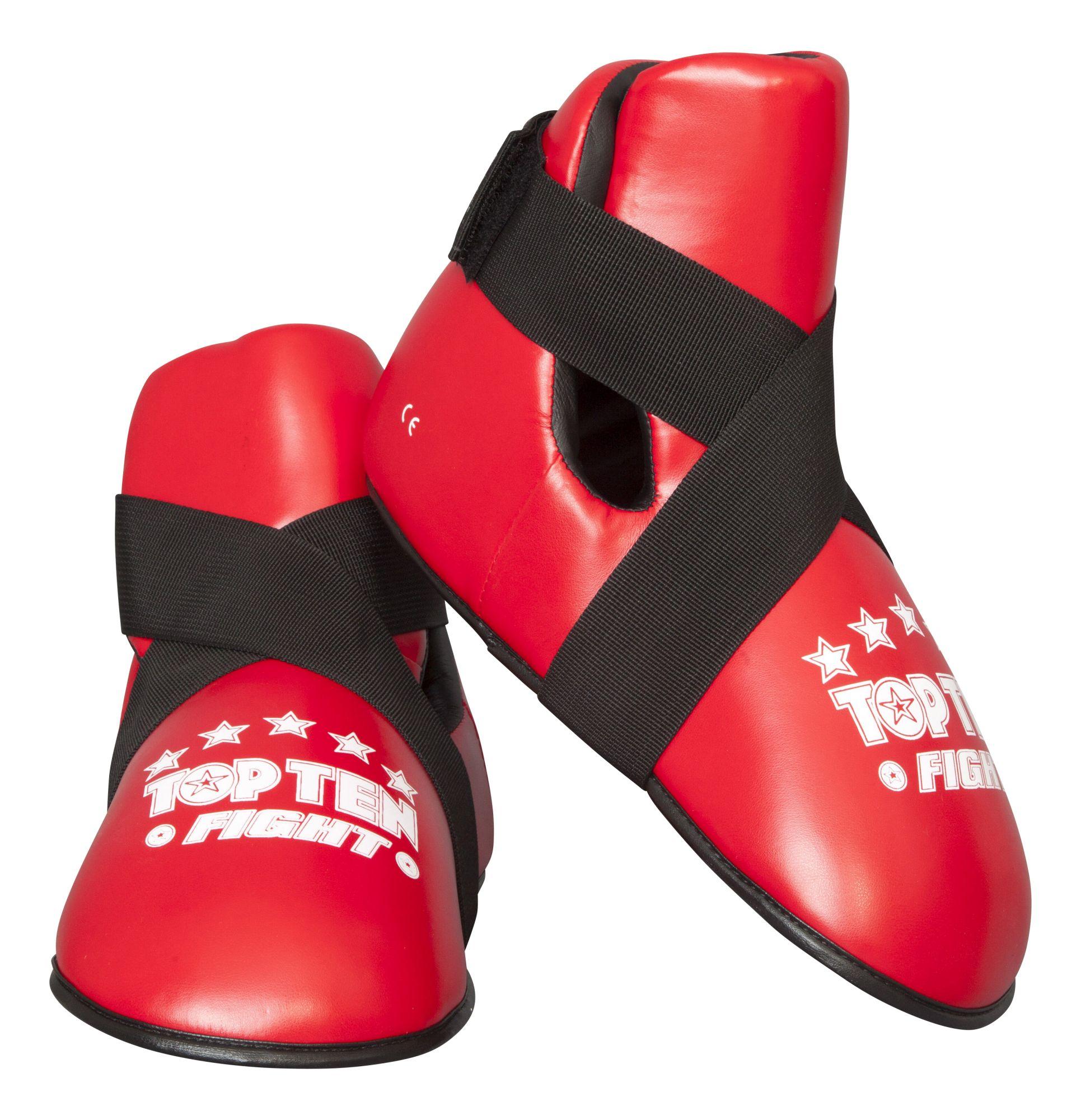 """TOP TEN Kicks """"Fight"""" voetbeschermers Wit"""