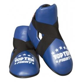 """TOP TEN Kicks """"Fight"""" voetbeschermers Blauw"""