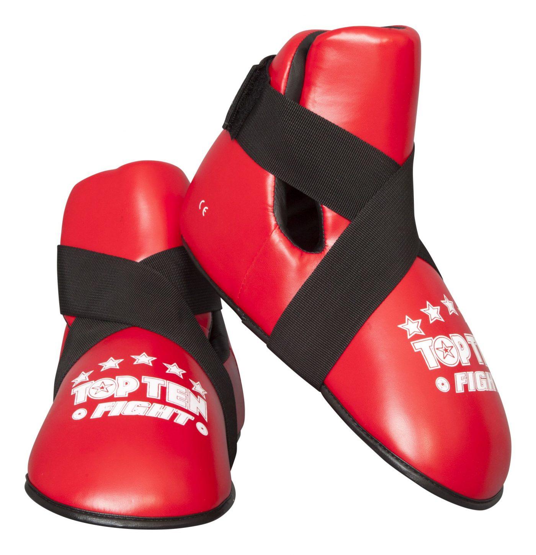 """TOP TEN Kicks """"Fight"""" voetbeschermers Rood"""