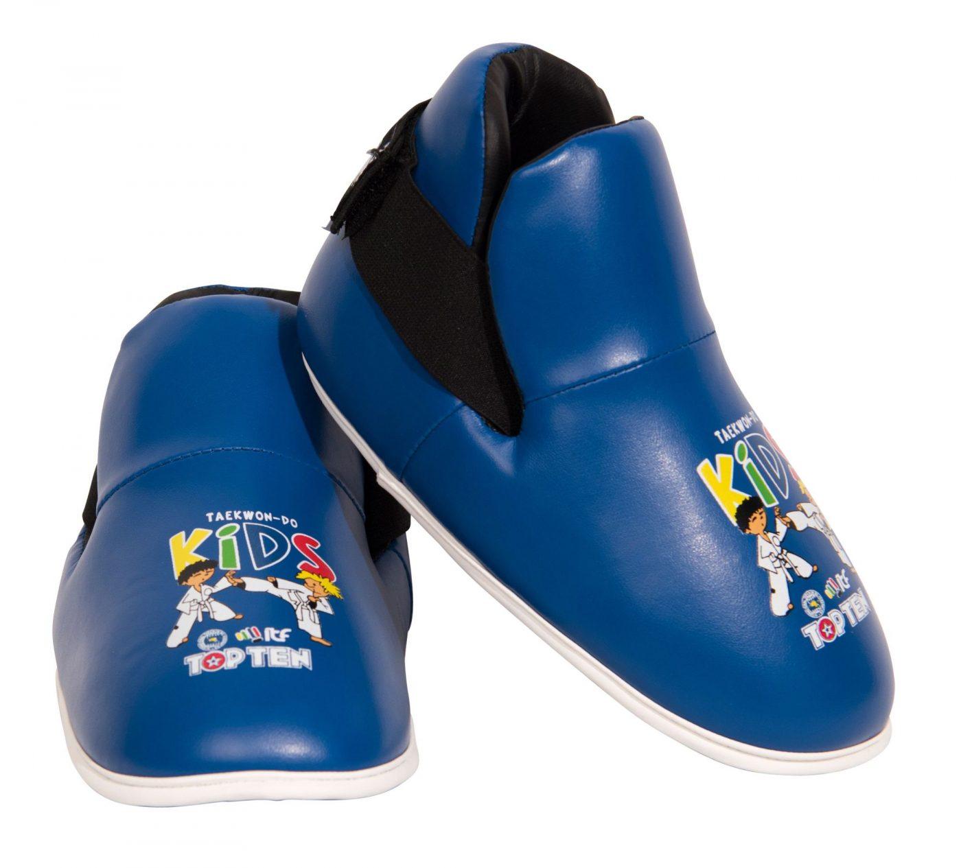 """Kicks """"ITF Kids"""" voetbeschermers Blauw"""