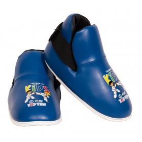 """TOP TEN Kicks """"ITF Kids"""" voetbeschermers Blauw"""