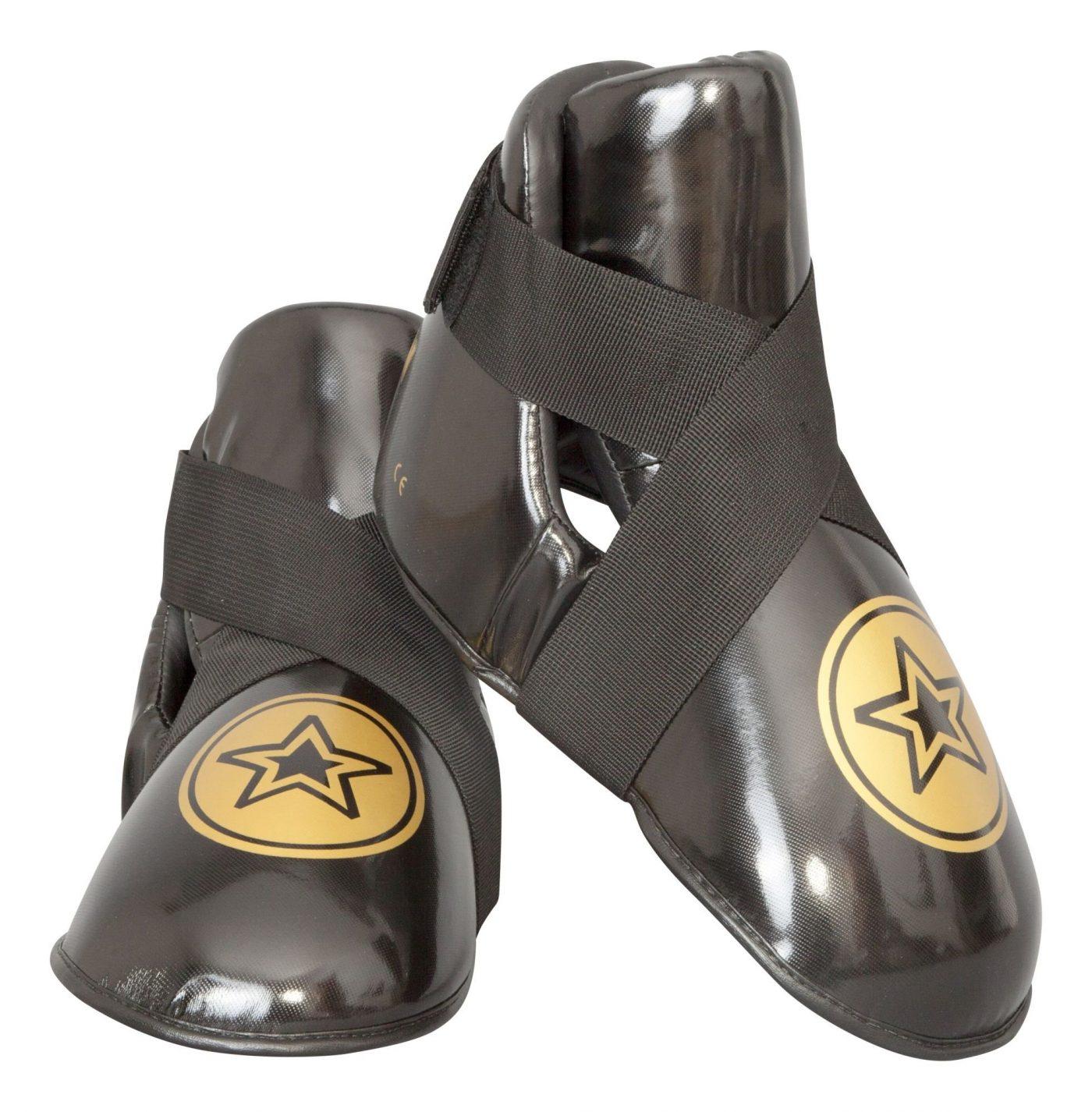"TOP TEN Kicks ""Star"" voetbeschermers Zwart - goud"