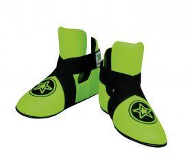 """Kicks """"Star"""" voetbeschermers Groen - Zwart"""
