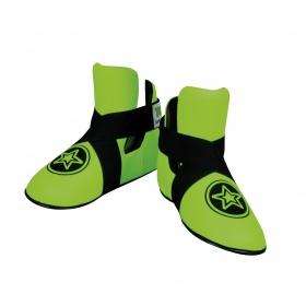 "TOP TEN Kicks ""Star"" voetbeschermers Groen - Zwart"