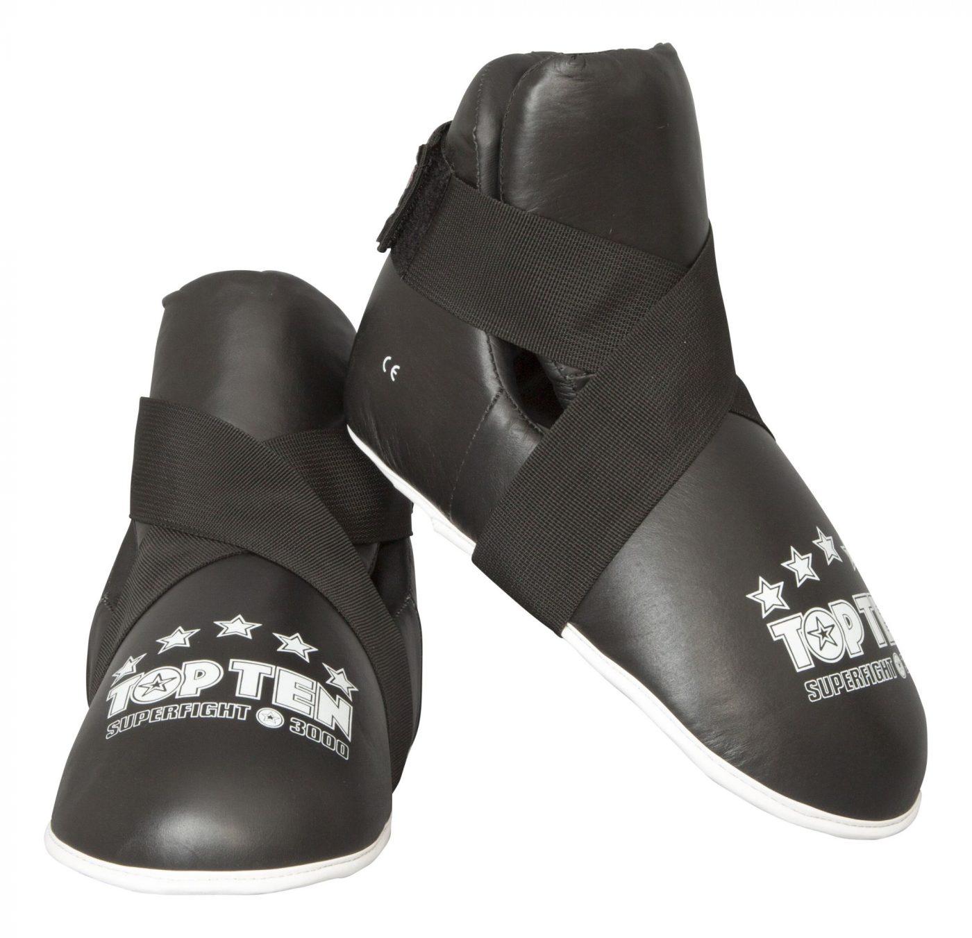 """Kicks """"Superfight 3000"""" voetbeschermers Zwart"""