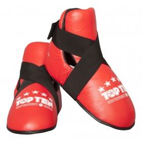"""TOP TEN Kicks """"Superfight 3000"""" voetbeschermers Rood"""