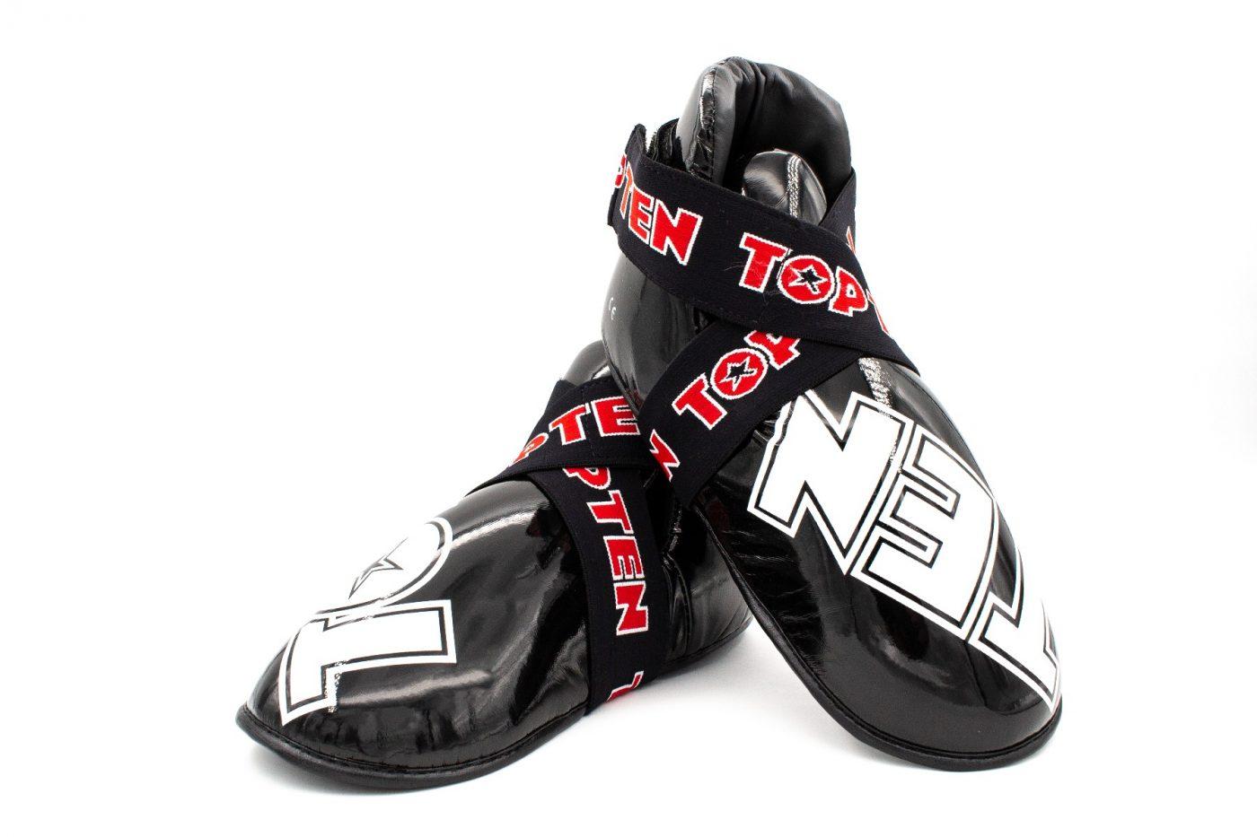 """TOP TEN Kicks """"SuperLight"""" voor wedstrijden voetbeschermers Zwart"""