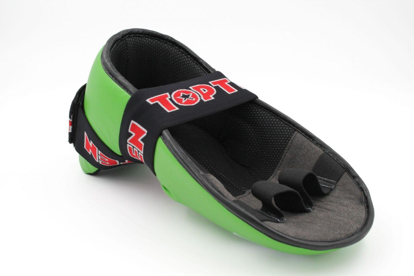 """TOP TEN Kicks """"SuperLight"""" voor wedstrijden voetbeschermers Groen"""