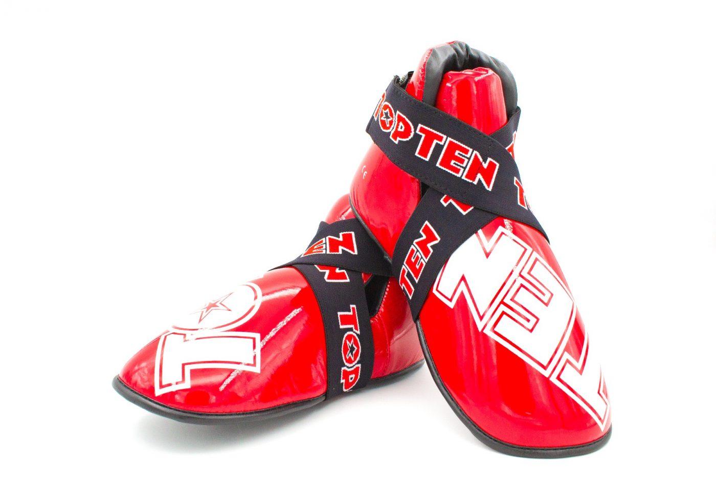 """TOP TEN Kicks """"SuperLight"""" voor wedstrijden voetbeschermers Rood"""
