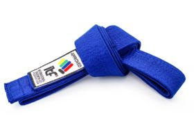 "TOP TEN Taekwondoband ""ITF"" Blauw"