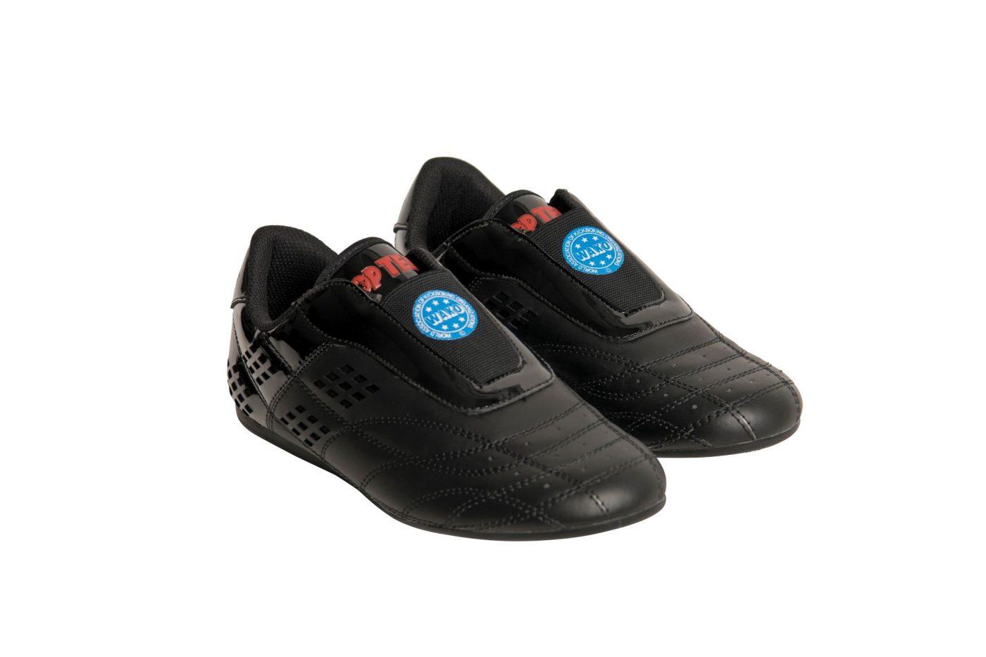 """TOP TEN Martial Arts schoenen """"WAKO"""" Zwart"""