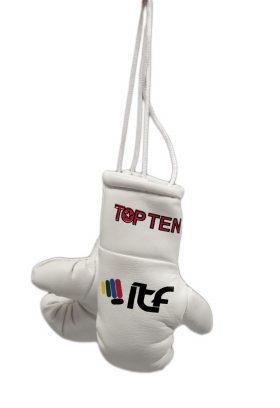 "Mini bokshandschoenen ""ITF"" Wit"