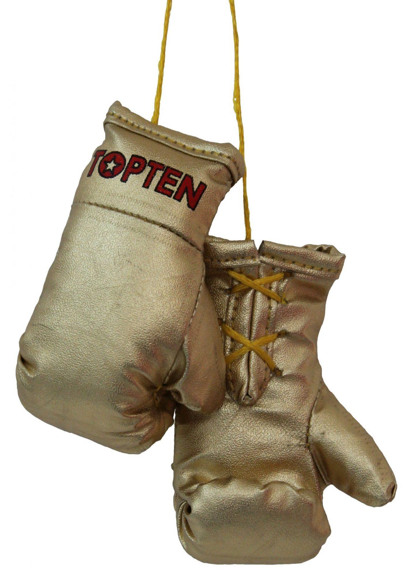 """TOP TEN Mini bokshandschoenen """"TOP TEN"""" goud"""