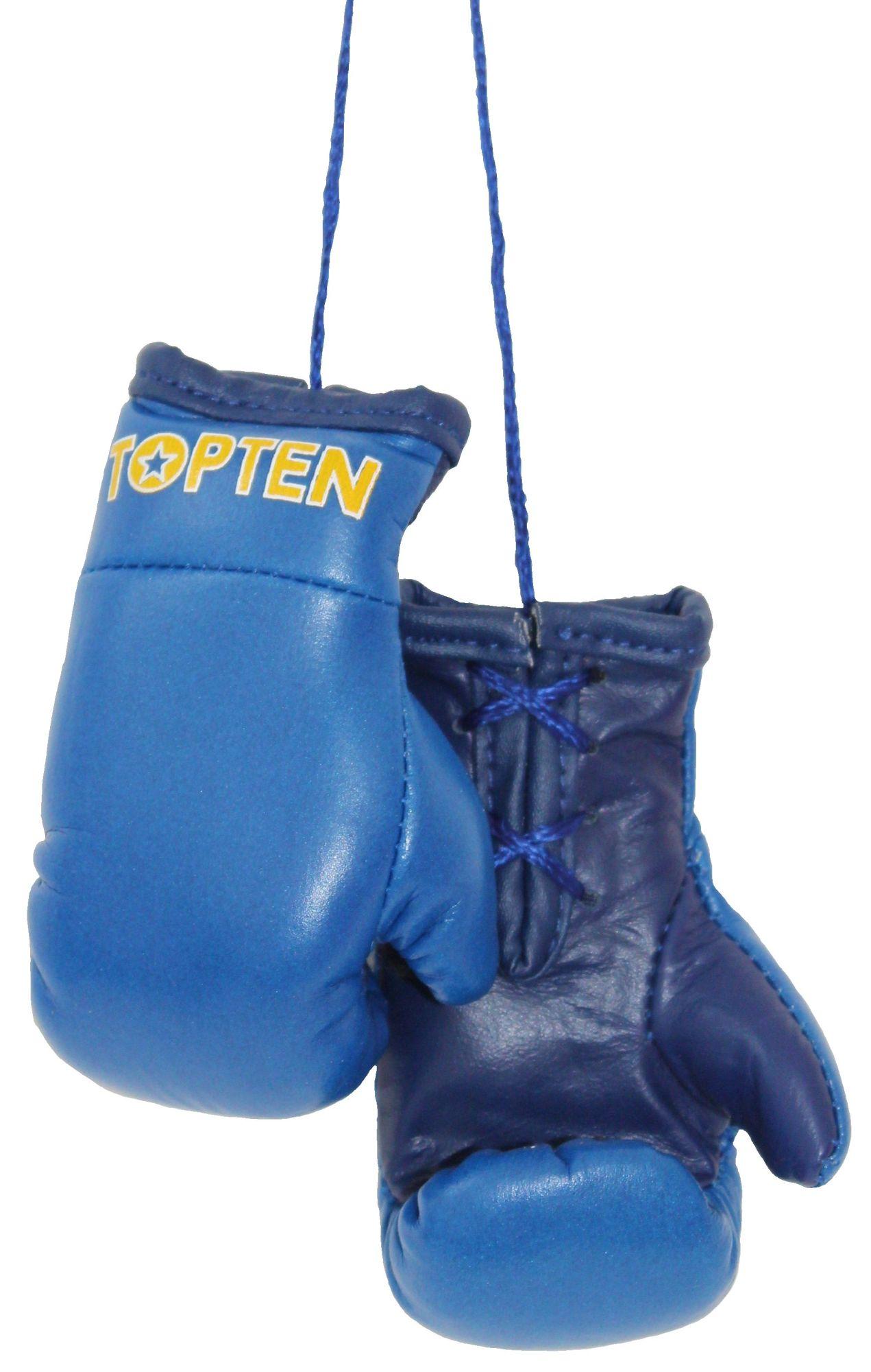 """Mini bokshandschoenen """"TOP TEN"""" Blauw"""