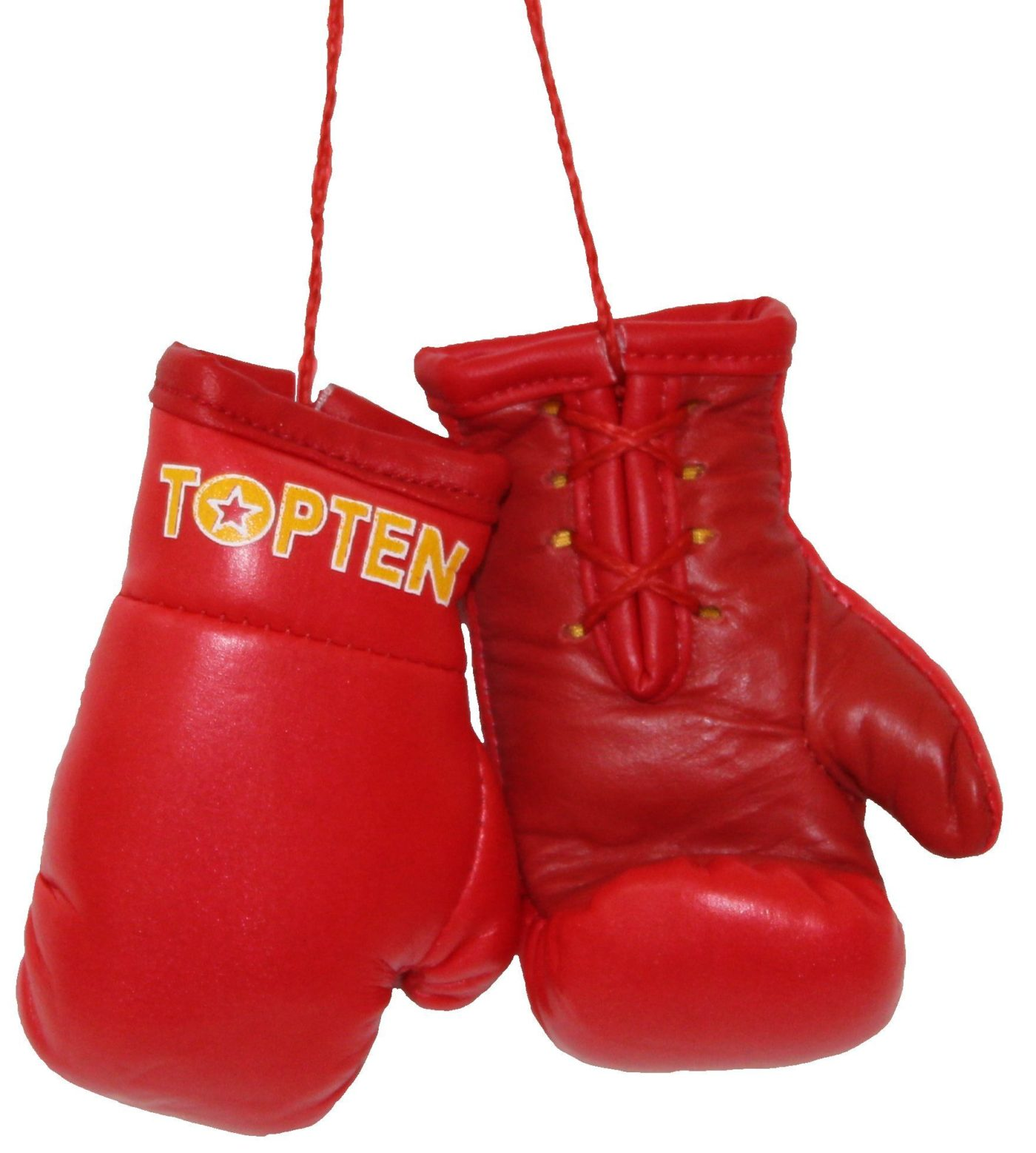 """Mini bokshandschoenen """"TOP TEN"""" Rood"""