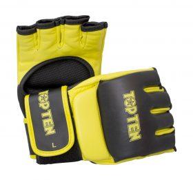 """MMA handschoenen """"Competition"""" Zwart - Geel"""
