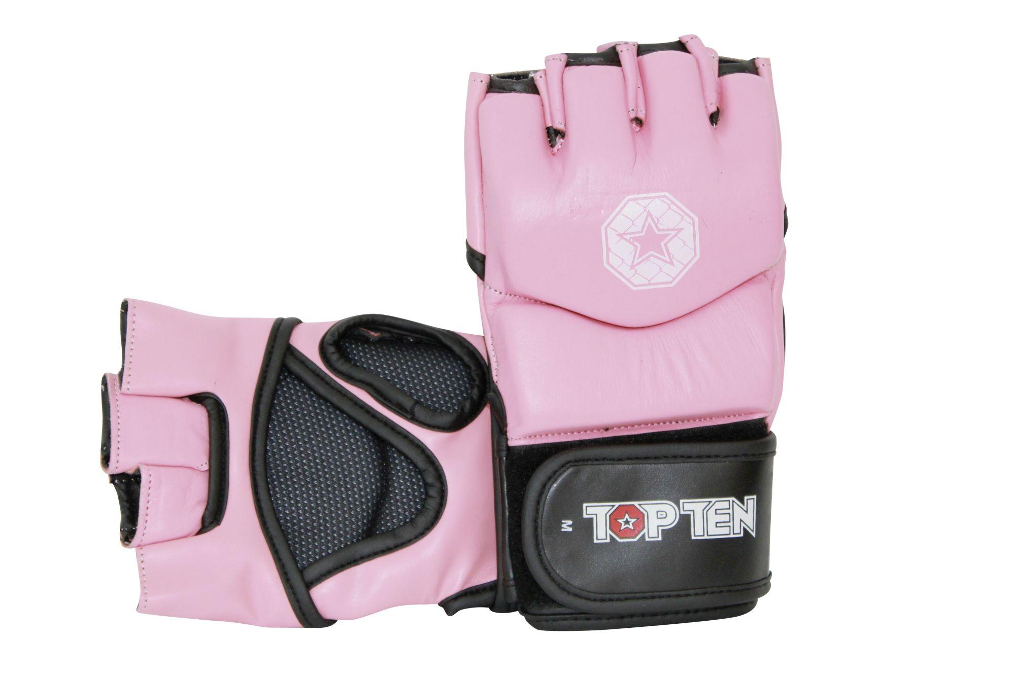"TOP TEN MMA MMA handschoenen ""E-Flexx"" rosé"