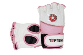 "TOP TEN MMA MMA handschoenen ""Girls"" voor dames Wit - rosé"