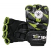 "TOP TEN MMA MMA handschoenen ""Jungle"" Zwart - rood"