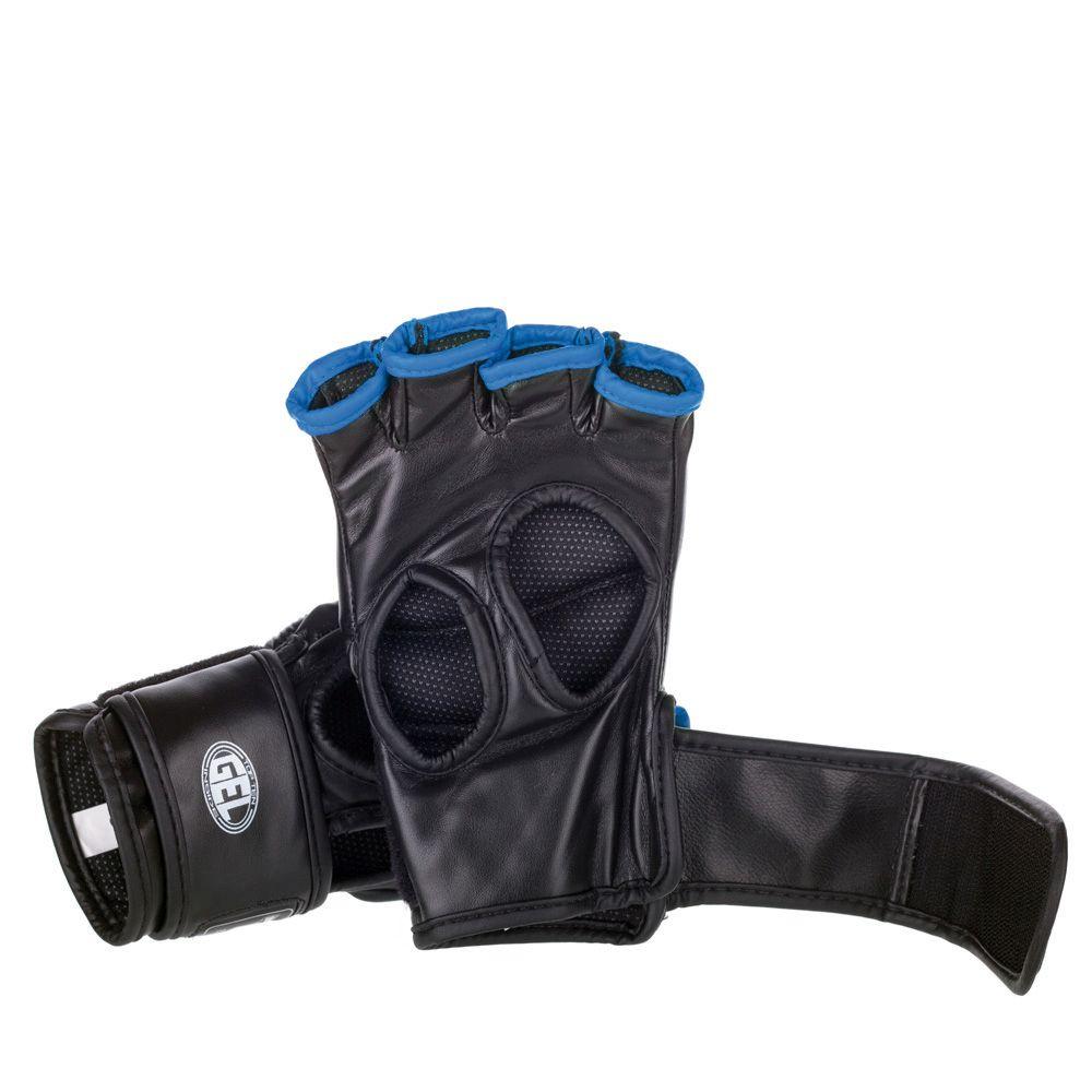 """TOP TEN MMA MMA handschoenen """"Octagon"""" Wit - Blauw"""