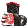 """TOP TEN MMA MMA handschoenen """"Octagon"""" Wit - rood"""
