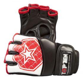"""MMA handschoenen """"Octagon"""" Wit - rood"""