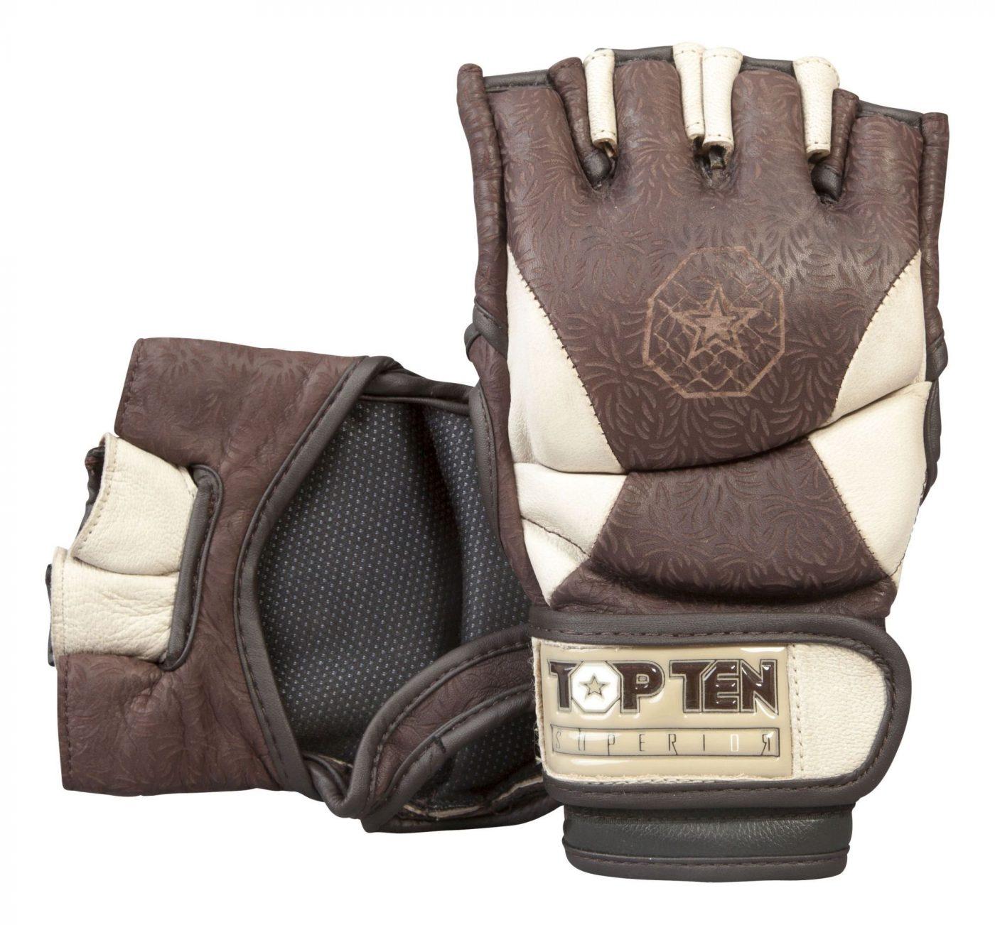 """MMA handschoenen """"Superior"""" Bruin - LightBruin"""