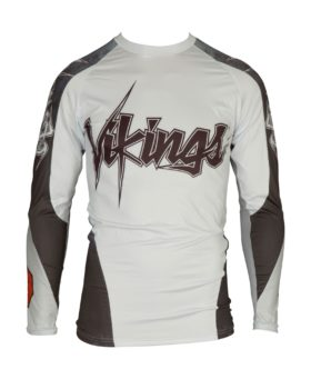 "Rashguard ""Vikings"" Wit"