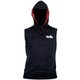 """TOP TEN MMA Mouwloos hoodie """"MMA Octagon"""" Zwart"""