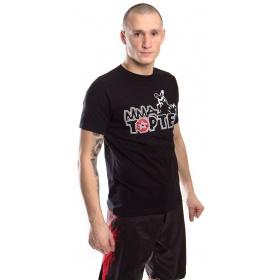 "TOP TEN MMA T-Shirt ""Promo TOP TEN MMA"" Zwart"